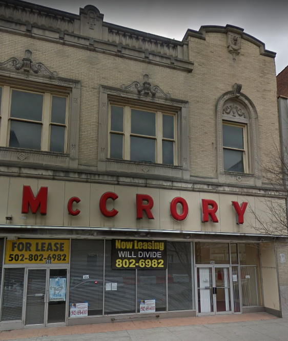 Mc Crory (For Lease) staff image