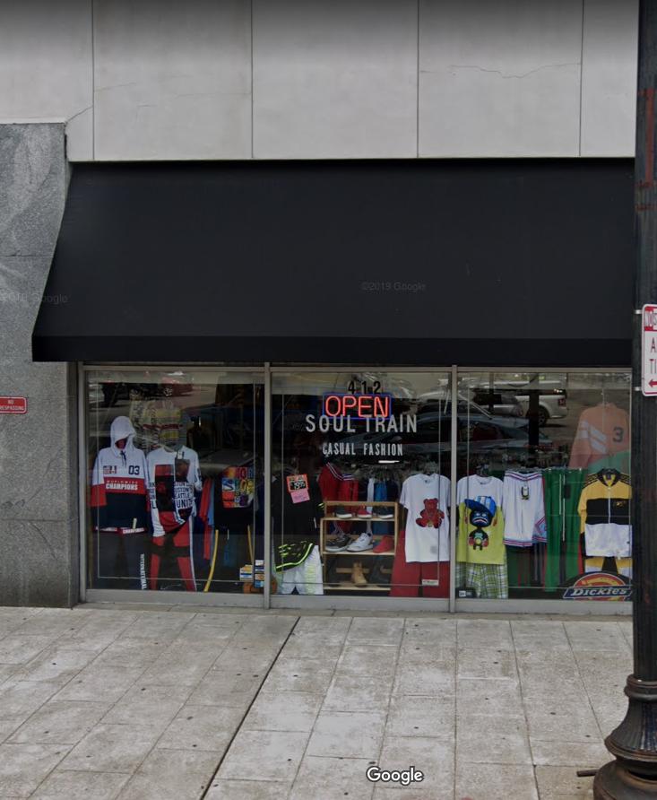 Soul Train Men's Clothing Store staff image
